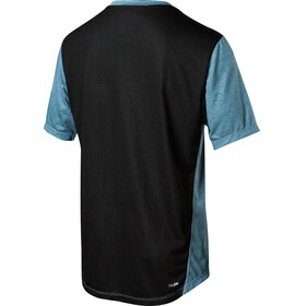 Fox Indicator Mash Camo Short Sleeve Jersey Men slate blue